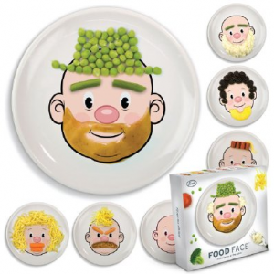 Food face plates